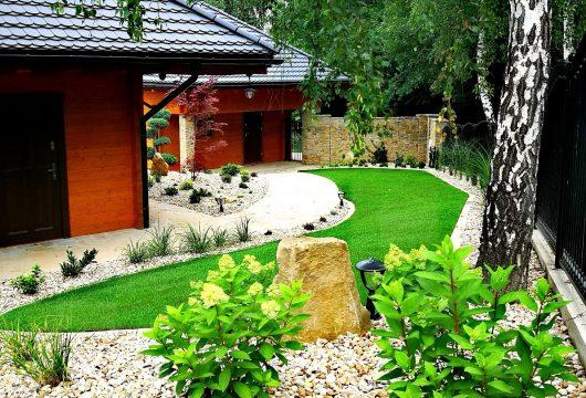 Ogród w drogini